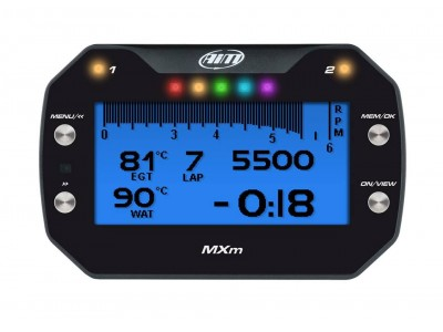 AiM MXP DASH DATA LOGGER
