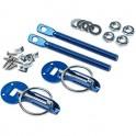 Sparco Blue Hood Pins 01606S