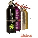 Lifeline 1.0kg ABC Dry Powder Hand Held Fire Extinguisher Polished