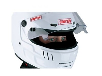 SIMPSON  CARBONX BREATH DEFLECTOR